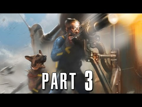 Fallout 4 Walkthrough Gameplay Part 3 - Power Armor (PS4)