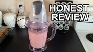 Ninja Master Prep Blender Review