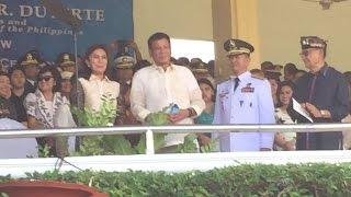 WATCH: President Duterte and VP Robredo met for the first time :)