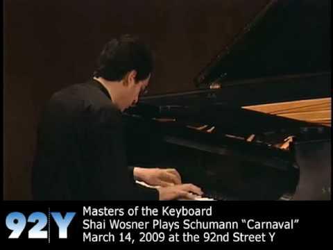 0 Masters of the Keyboard: Shai Wosner   Schumann: Carnaval