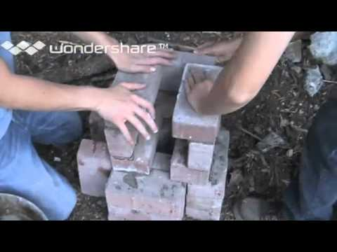 How to build a kiln out of bricks (HOMEMADE)