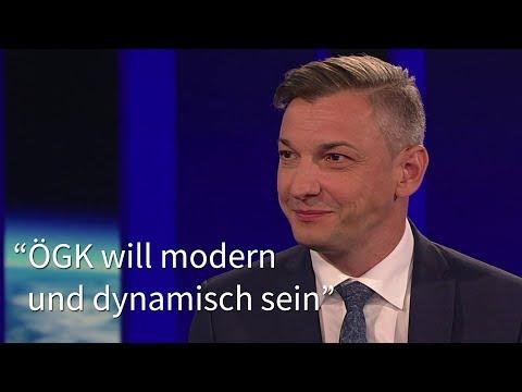 """ZIB 2 Interview mit Bernhard Wurzer: """"ÖGK will modern und dynamisch sein"""""""