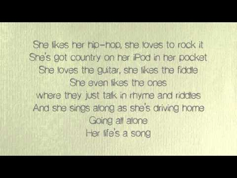 Alan Jackson - Her Lifes A Song
