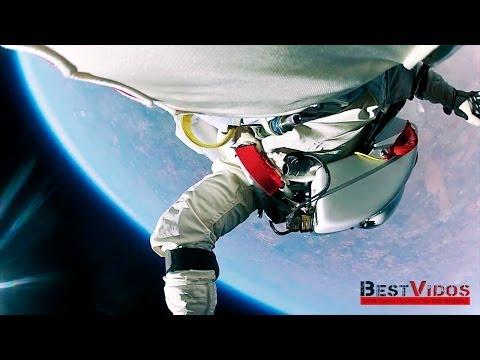 Прыжок из космоса на землю и 3 мировых рекорда