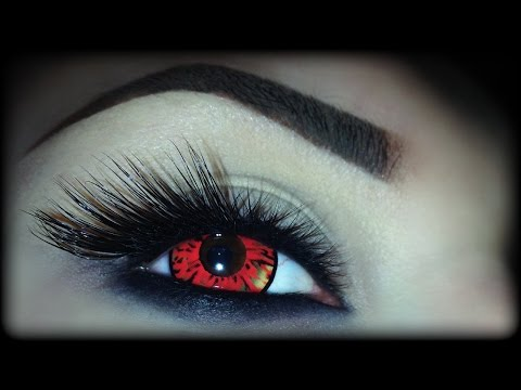 Devil eye makeup