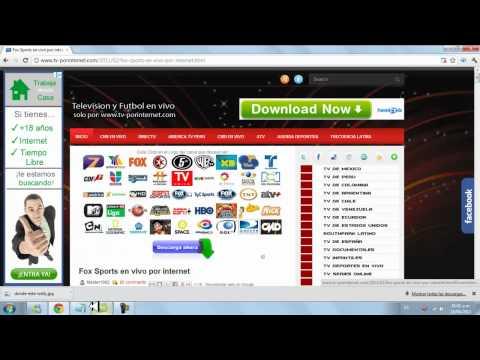 Como ver TV en VIVO y gratis por internet