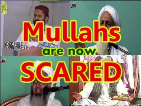 """Video Evidence: Mullahs have now RUN AWAY from """"Wafat-e- Masih"""" and are training OTHERS to avoid it."""