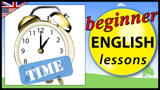 Telling the time in English, Beginner English Lessons for Kids