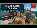 The RICH KIDS Of A NEW SOLO WIPE DAY Rust Solo Survival Gameplay Ep1 mp3