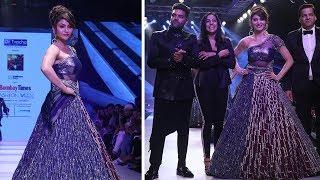 Urvashi Rautela And Guru Randhawa Ramp Walk For Bombay Times Fashion Week | Ramp Walk Video 2018