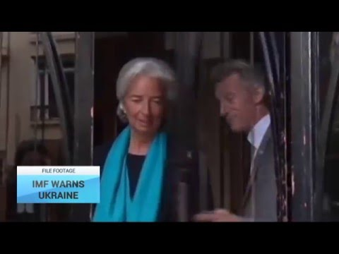 IMF Warns Ukraine: IMF chief calls for end to corruption, threatens to halt bailout