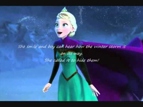 Elsa's Dream ~~ (Winter) In Her Eyes