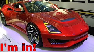 Saleen 1 Debut - An Affordable Super Car!