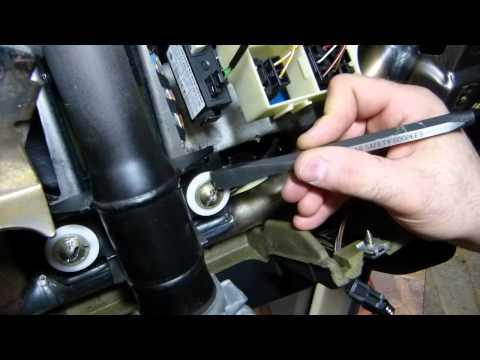 BMW E36 Steering Column Fracture Bolt Removal Technique