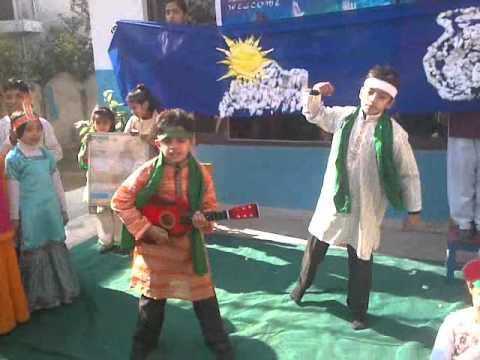 Dil Dil Pakistan Askaria Public School System Mille Naghme Pakistan video