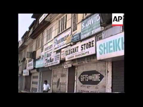 India - Moslem Separatists Call Kashmiri Strike