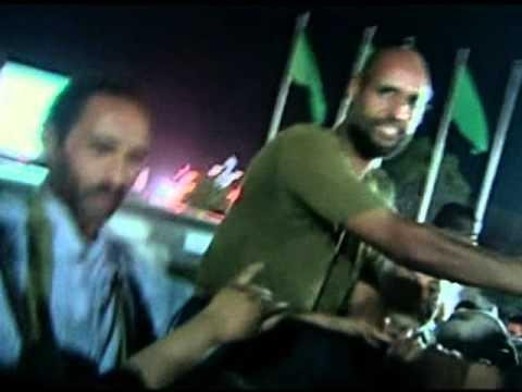 Libya, Saif Gaddafi makes public appearance