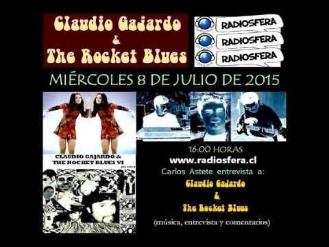 Claudio Gajardo & The Rocket Blues en Radio Radiósfera (DUOC UC)