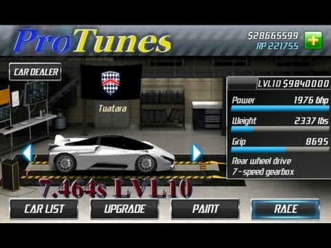 Drag Racing NEW ( V1.5 ) Android App Level 10 Henessey Venom GT
