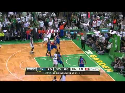 NBA Playoffs 2013: NBA New York Knicks Vs Boston Celtics Highlights May 3, 2013 Game 6