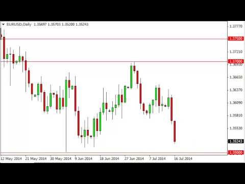 EUR/USD Technical Analysis for July 17, 2014 by FXEmpire.com