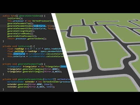 Programming the Road System for my City-Builder Game