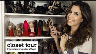 Tour no closet de Camila Coutinho