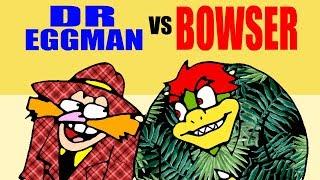 DR EGGMAN vs BOWSER - La cafetería de Hergad