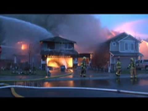 Two Homes Destroyed By Fire Three Damaged Graham WA