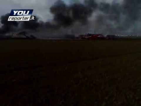 incidente aereo a pisa: precipita un c130