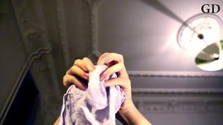 ASMR Hand in Nylons