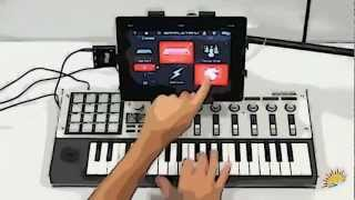 iRig MIDI-and iPad-is easy with the help of music