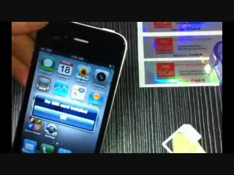 IPHONE 4 UNLOCK BY REBEL MICRO SIM