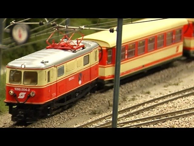 Model Train Austria HO Scale Railroad