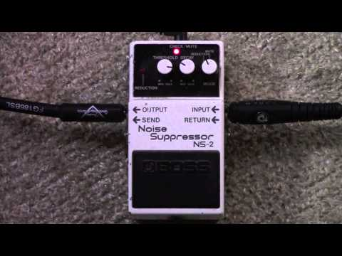 Boss NS-2 Noise Suppressor Through Amps Effects Loop