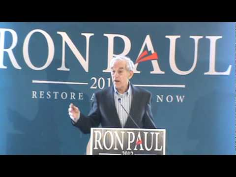 Ron Paul in Colorado Springs, CO - Jan 31st, 2012