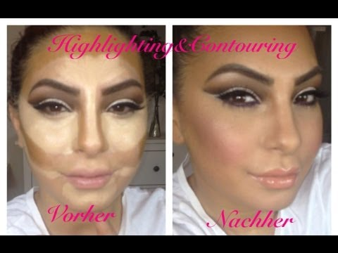 Highlighting&Contour ala Kim Kardashian