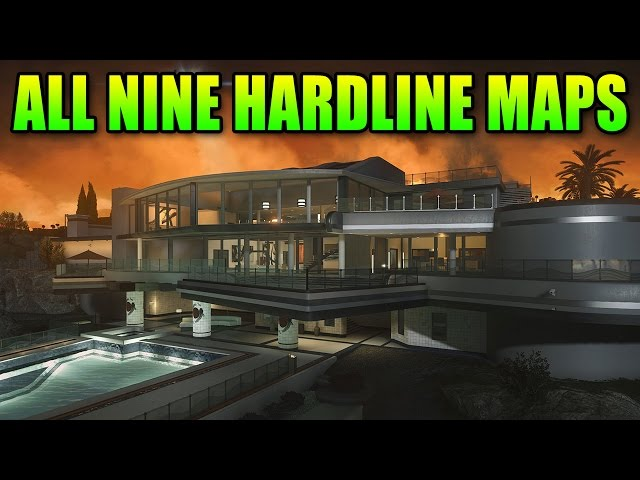 All Nine Maps Of Battlefield Hardline