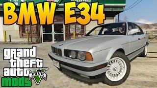 GTA 5 Mods : BMW 535i (e34)