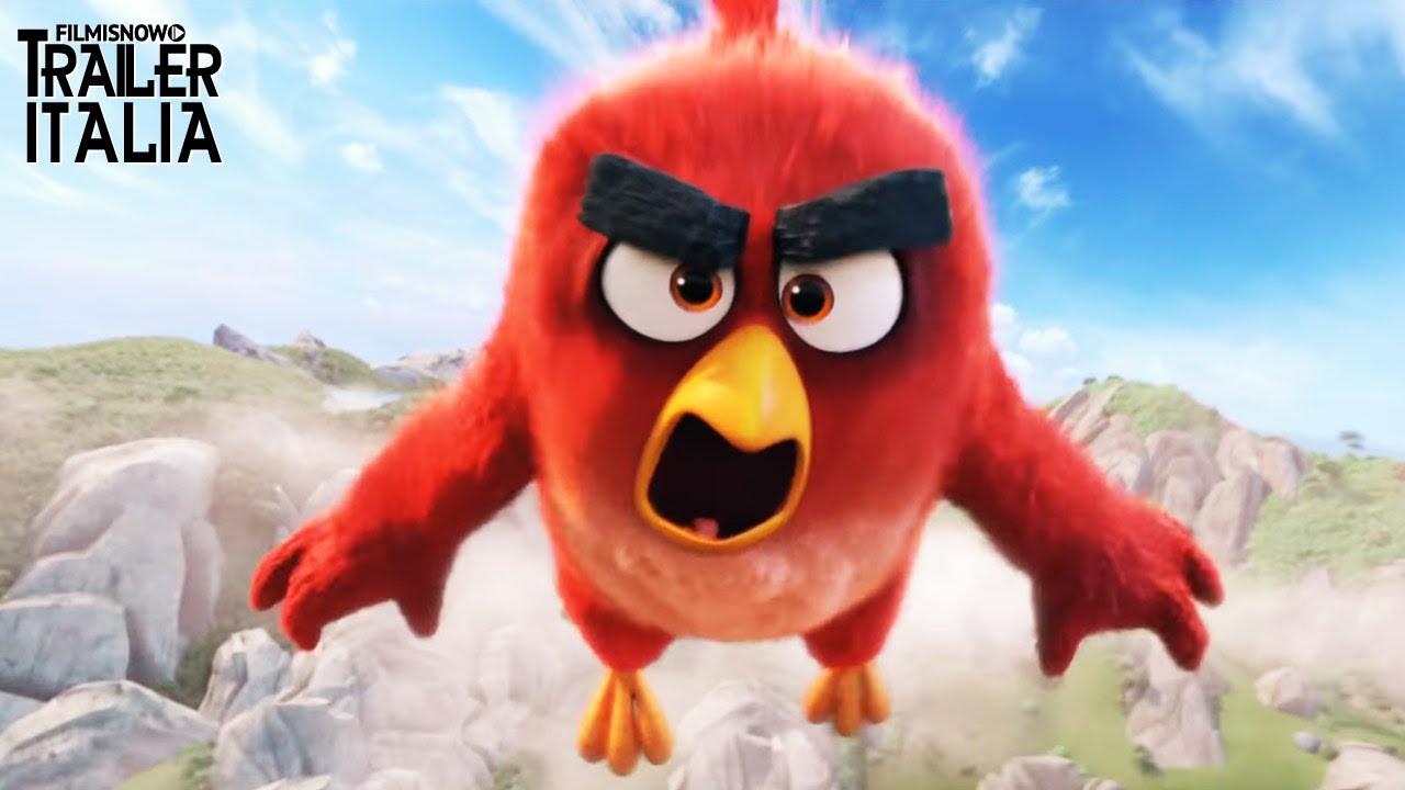 Maccio Capatonda è la voce di Red nel nuovo trailer italiano di Angry Birds - Il Film [HD]