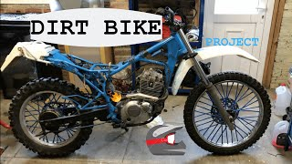 DR125 DIRT BIKE PROJECT - wiring