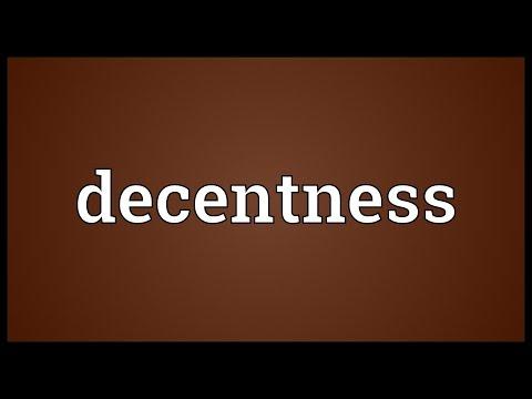 Header of decentness