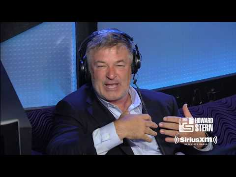 Alec Baldwin on a Donald Trump Presidency   Howard Stern Show 7/28/15