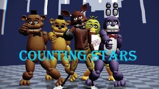 【MMD x FNAF】 - Counting stars