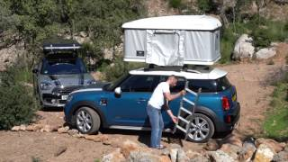 The AUTOHOME roof tent for the new MINI Countryman / Autohome