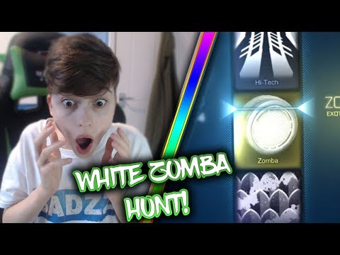 WHITE ZOMBA HUNT | ROCKET LEAGUE TROLLED ME! | Rocket League Crate Opening