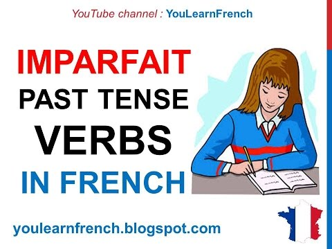 To be past tense in french