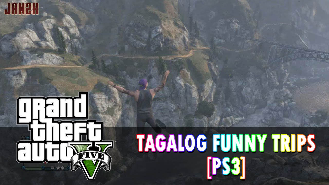 GTA 5 Online Tagalog Funny Road Trips: Boom Panes Part 2 ...