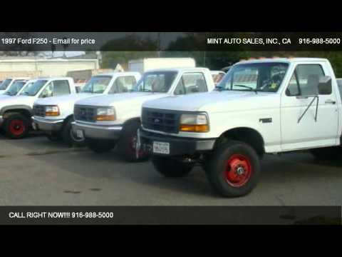 1997 Ford F250 LD Reg. Cab 2WD - for sale in Orangevale ...