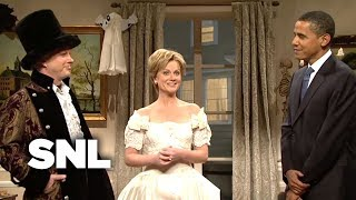 The Clinton's Halloween Party - SNL